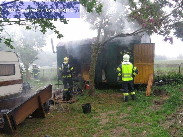 Brandeinsatz vom 16.05.2018  |  (C) Feuerwehr Bruckmühl (2018)
